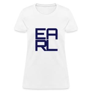 Earl Logo Easy Fit (Navy) - Women's T-Shirt