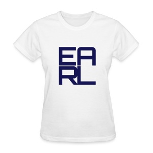 Earl Logo Easy Fit (Navy) - Women's T-Shirt