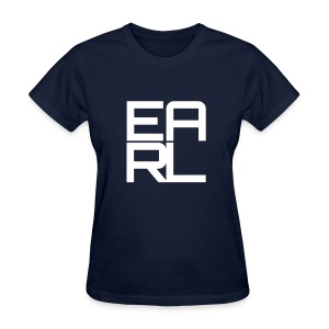 Earl Logo Easy Fit (White) - Women's T-Shirt
