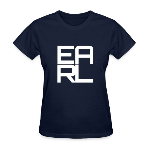 Earl Logo Easy Fit (White) - Women's T-Shirt