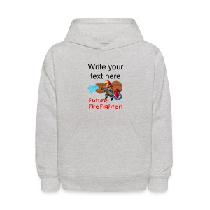 Future Firefighter Kid's Hooded Sweatshirt - Kids' Hoodie