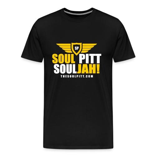 Soul Pitt SOULjah Men's Tee - Men's Premium T-Shirt