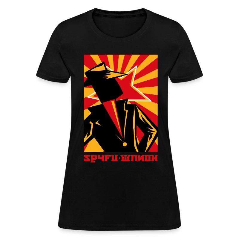 spyfu_russia - Women's T-Shirt