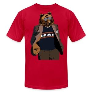 Da Bear Coach - Men's Fine Jersey T-Shirt