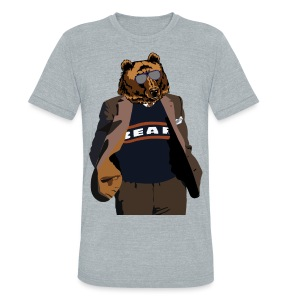 Da Bear Coach - Unisex Tri-Blend T-Shirt
