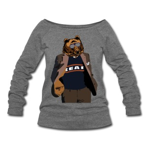 Da Bear Coach - Women's Wideneck Sweatshirt