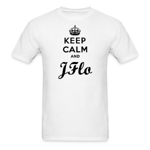 Keep Calm and JFlo - Men's T-Shirt