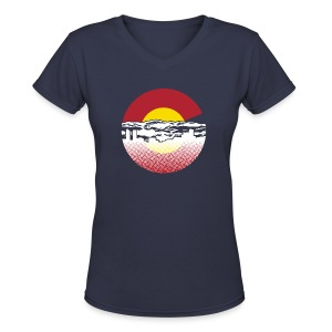 Denver - Women's V-Neck T-Shirt