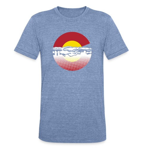 Denver - Unisex Tri-Blend T-Shirt by American Apparel