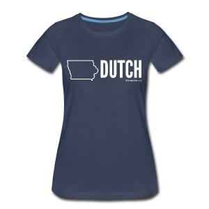 Iowa Dutch (white) - Women's Premium T-Shirt