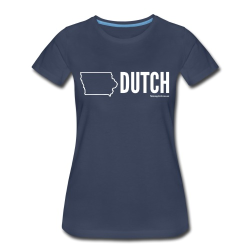 Iowa Dutch (white) - Women's Premium T-Shirt