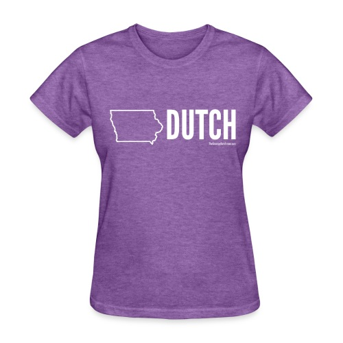 Iowa Dutch (white) - Women's T-Shirt