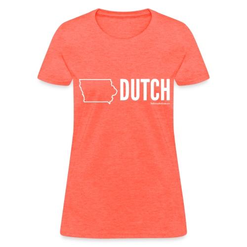 Iowa Dutch (white) - Women's T-Shirt