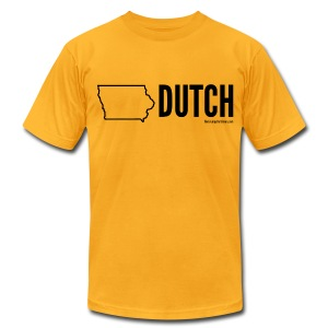 Iowa Dutch (black) - Men's Fine Jersey T-Shirt