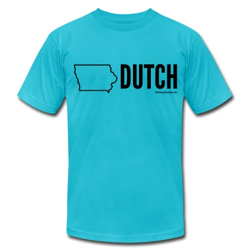 Iowa Dutch (black) - Men's  Jersey T-Shirt