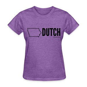 Iowa Dutch (black) - Women's T-Shirt