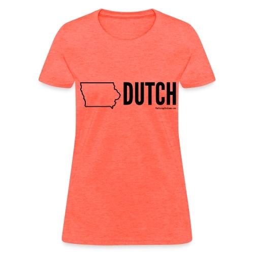 Iowa Dutch (black) - Women's T-Shirt