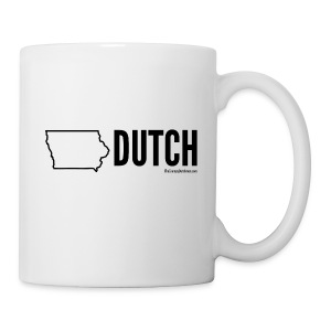Iowa Dutch (black) - Coffee/Tea Mug