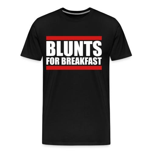 blunts for breakfast  - Men's Premium T-Shirt