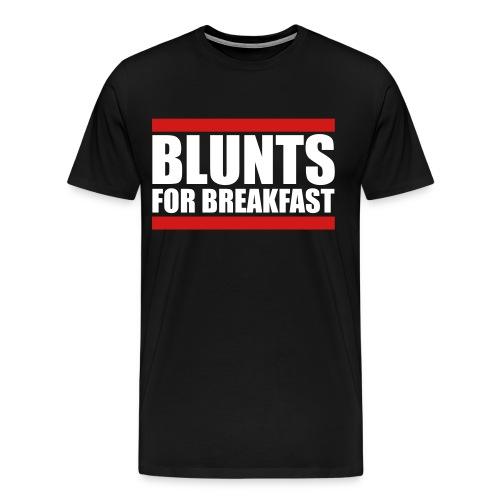 blunts for breakfast  - Men's Premium T-Shirt