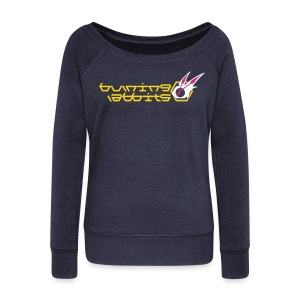 Burning Rabbits (free shirtcolor selection) - Women's Wideneck Sweatshirt