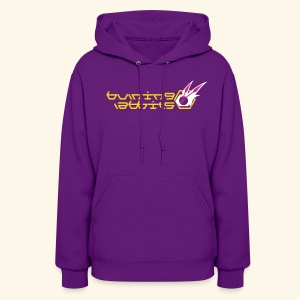 Burning Rabbits (free shirtcolor selection) - Women's Hoodie