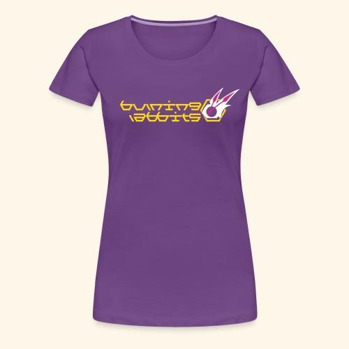 Burning Rabbits (free shirtcolor selection) - Women's Premium T-Shirt