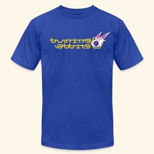 Burning Rabbits (free shirtcolor selection) - Men's T-Shirt by American Apparel