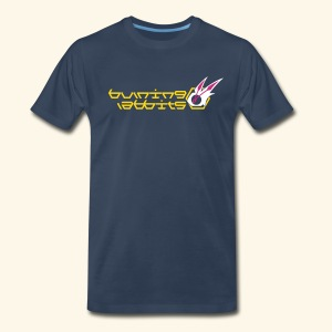 Burning Rabbits (free shirtcolor selection) - Men's Premium T-Shirt