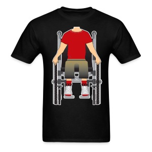Wheelchair rokstar  - Men's T-Shirt