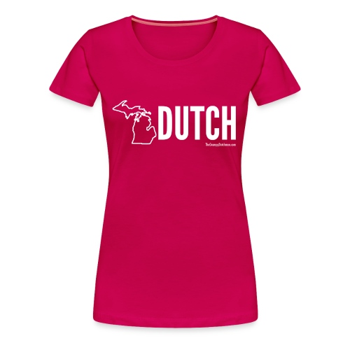 Michigan Dutch (white) - Women's Premium T-Shirt