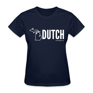 Michigan Dutch (white) - Women's T-Shirt
