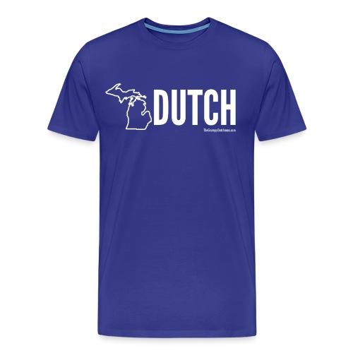 Michigan Dutch (white) - Men's Premium T-Shirt