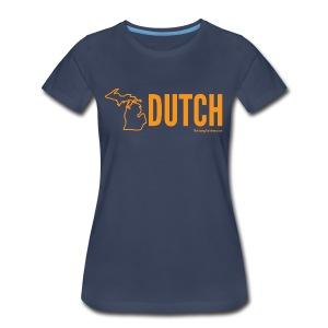Michigan Dutch (orange) - Women's Premium T-Shirt