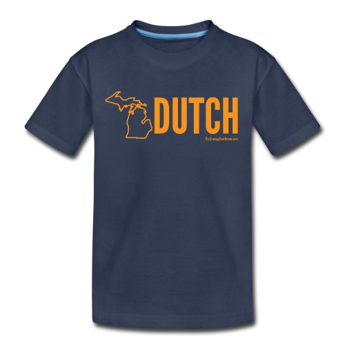 Michigan Dutch (orange) - Toddler Premium T-Shirt