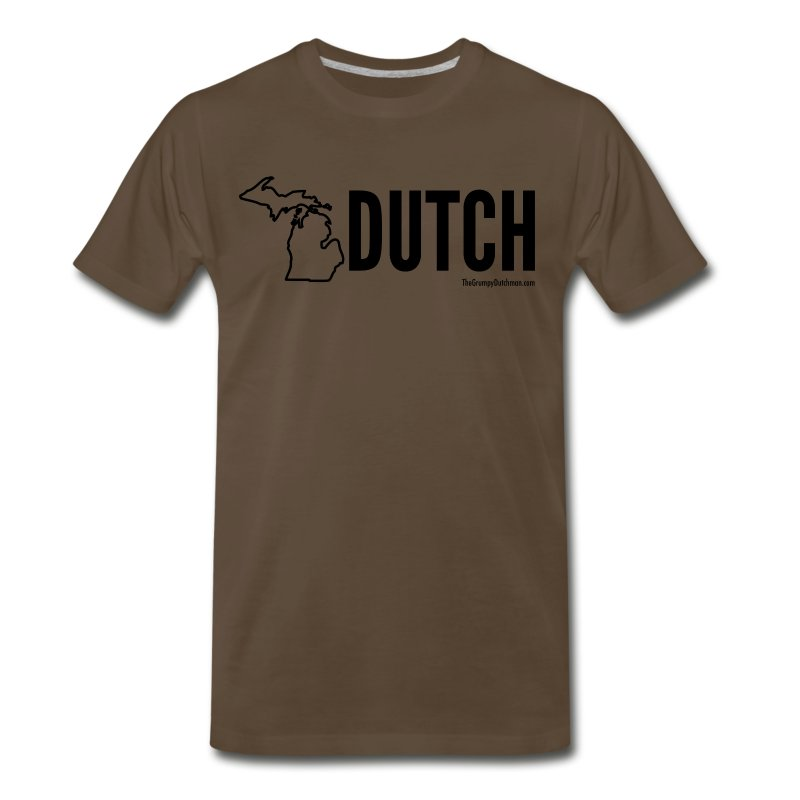 Michigan Dutch (black) - Men's Premium T-Shirt