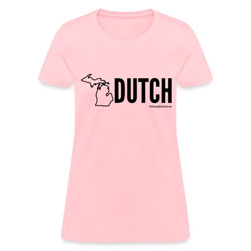 Michigan Dutch (black) - Women's T-Shirt