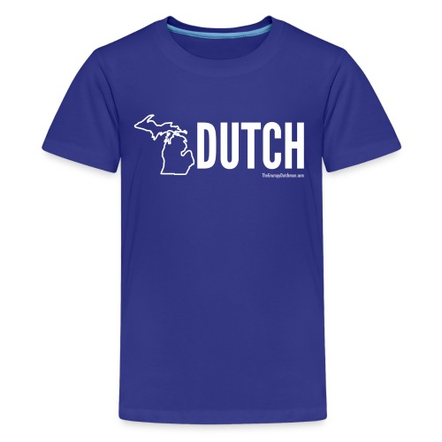 Michigan Dutch (white) - Kids' Premium T-Shirt