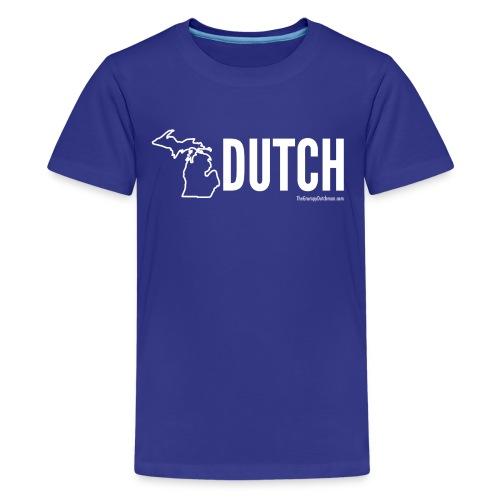 Michigan Dutch (white) - Kids' Premium T-Shirt