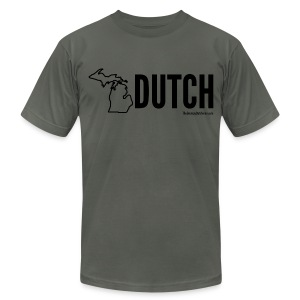 Michigan Dutch (black) - Men's Fine Jersey T-Shirt