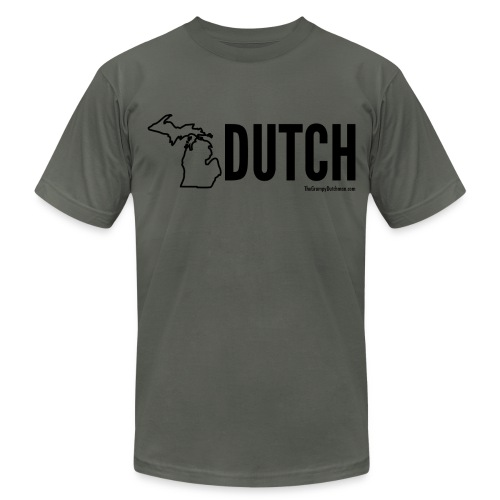 Michigan Dutch (black) - Men's Fine Jersey T-Shirt