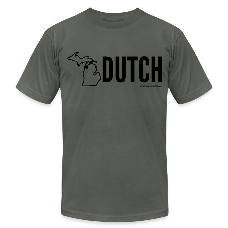 Michigan Dutch (black) - Men's T-Shirt by American Apparel