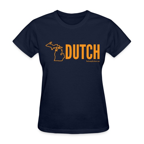 Michigan Dutch (orange) - Women's T-Shirt