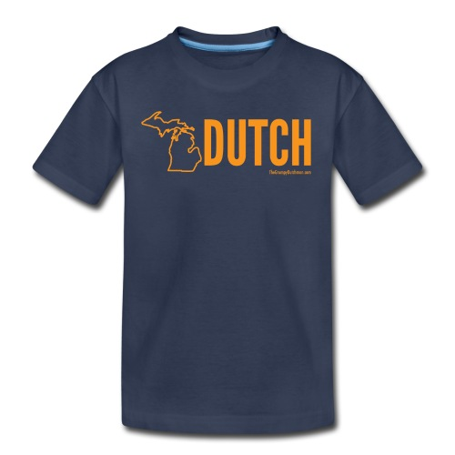 Michigan Dutch (orange) - Kids' Premium T-Shirt