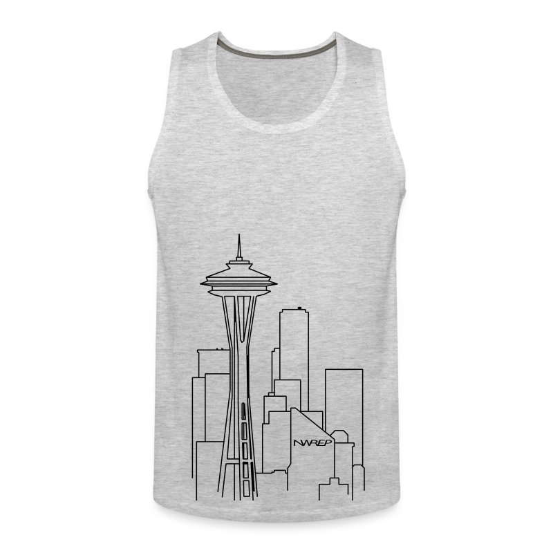 Seattle Lines - Men's Premium Tank