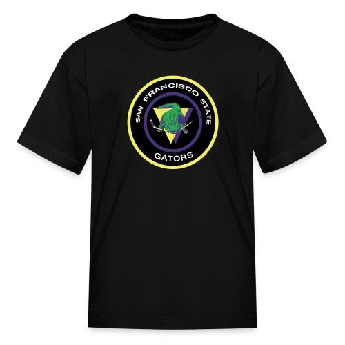 Kid's SFSU Gators Crest T-Shirt - Kids' T-Shirt
