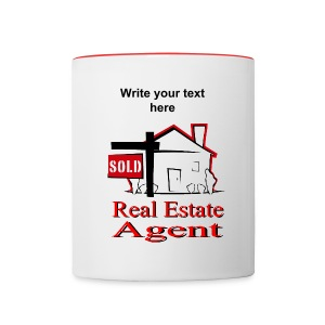 Real Estate Agent Coffee Mug - Contrast Coffee Mug