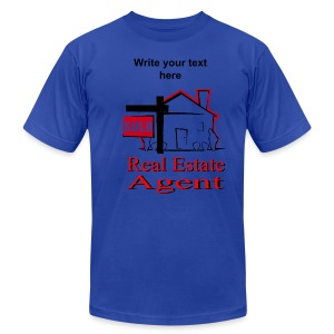 Real Estate Agent Men' T-Shirt - Men's T-Shirt by American Apparel