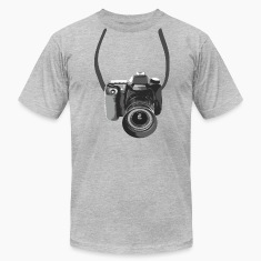 Photographer Camera Around The Neck T-shirts