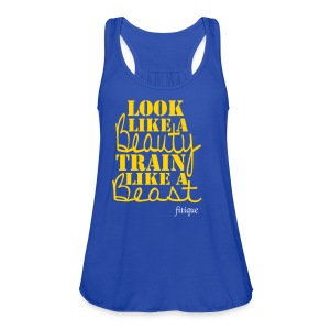 Women's Flowy Tank Top by Bella - gym,Stay Fit,Squat,Pretty,Muscle,Ladies,Girls,Fitness,Beauty